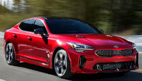 2018 Kia Stinger, Front-quarter view., exterior, manufacturer, gallery_worthy