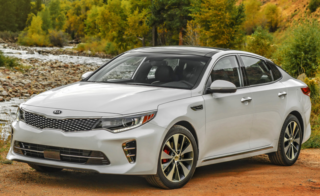 2017 Kia Optima, Front Quarter View., Exterior, Manufacturer, Gallery_worthy