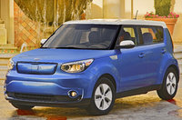 2017 Kia Soul EV, Front-quarter view., exterior, manufacturer, gallery_worthy