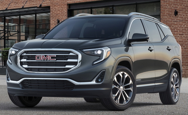 2018 GMC Terrain, Front-quarter view., exterior, manufacturer, gallery_worthy