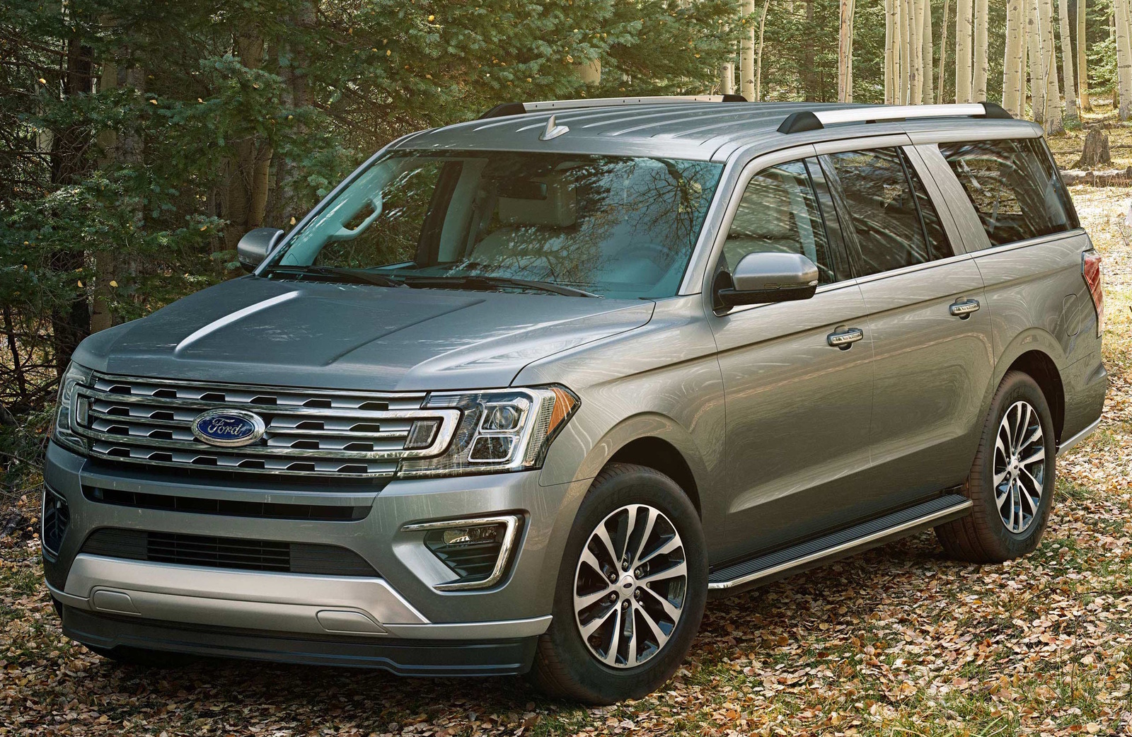 2018 ford expedition front quarter view exterior manufacturer - Ford Explorer 2018