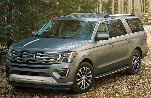 2018 Ford Expedition, Front-quarter view., exterior, manufacturer, gallery_worthy