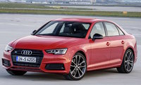 2018 Audi S4, Front-quarter view of European version., exterior, manufacturer