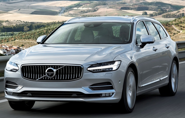 2018 Volvo V90, Front-quarter view., exterior, manufacturer, gallery_worthy