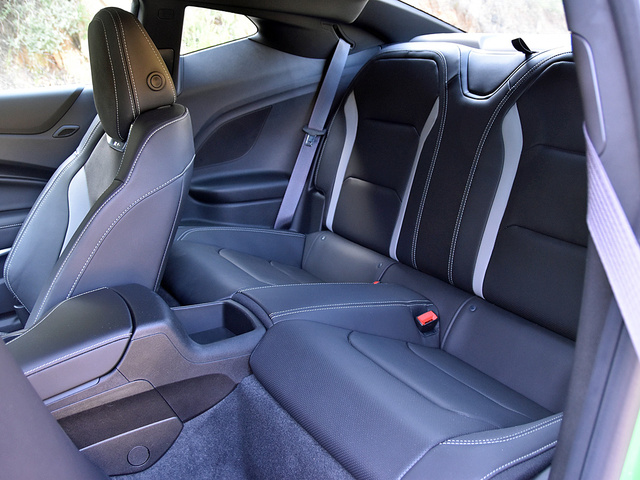 2017 Chevrolet Camaro SS 1LE rear seats, gallery_worthy