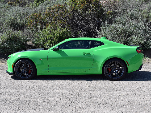 2017 Chevrolet Camaro SS 1LE in Krypton Green, gallery_worthy