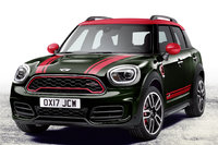 2018 MINI Countryman, Front-quarter view of European version., exterior, manufacturer, gallery_worthy
