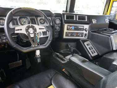 Picture of 1998 AM General Hummer 4 Dr Turbodiesel AWD Convertible, interior