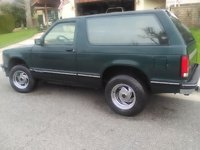 Picture of 1993 Chevrolet S-10 Blazer 2 Dr STD SUV, exterior