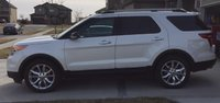 2014 Ford Explorer XLT 4WD, Side View, exterior