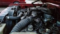 Picture of 1985 Toyota Land Cruiser 4WD, engine