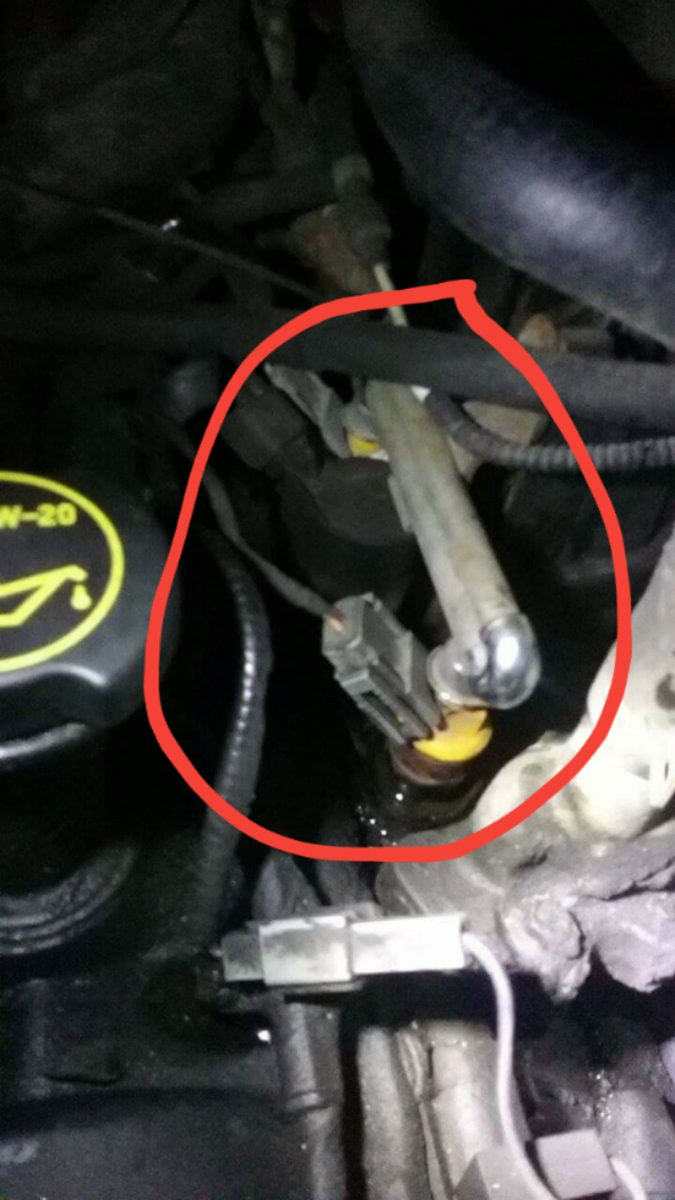 Leaking Antifreeze Out Of My  Ford F Xlt What Is This Line Called