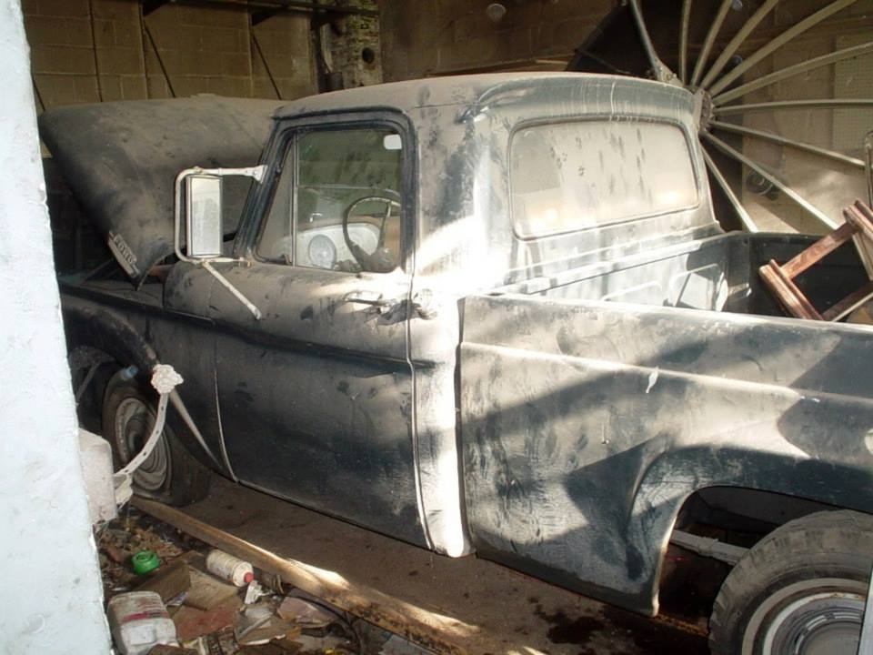 Ford F 100 Questions Did This Truck Bed Come On The 1963 Ford From