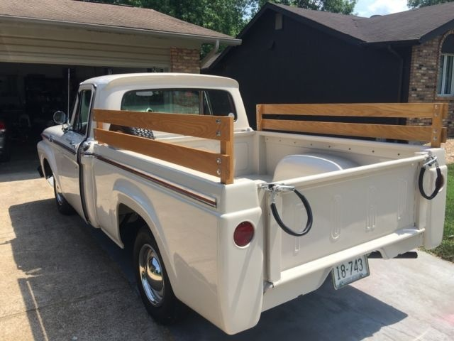 4 Answers & Ford F-100 Questions - Did this truck bed come on the 1963 Ford ... markmcfarlin.com
