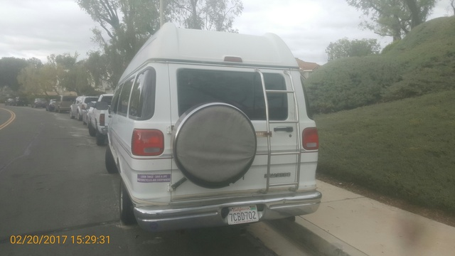 Picture of 1996 Dodge Ram Van 3 Dr 3500 Cargo Van Extended