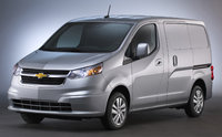 2017 Chevrolet City Express, Front-quarter view., exterior, manufacturer, gallery_worthy
