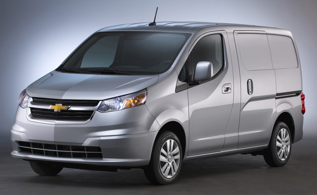 2017 Chevrolet City Express, Front-quarter view., exterior, manufacturer