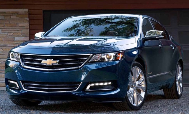 2017 Chevrolet Impala, Front-quarter view., exterior, manufacturer, gallery_worthy