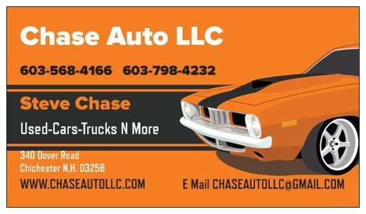 Nissan Dealers In Nh >> Chase Auto LLC - Chichester, NH: Read Consumer reviews, Browse Used and New Cars for Sale