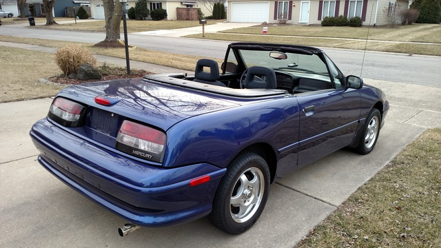 Picture of 1994 Mercury Capri 2 Dr STD Convertible, exterior