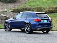 2017 Mercedes-Benz GLC-Class GLC 43 AMG 4MATIC, 2017 Mercedes-AMG GLC43 in Brilliant Blue, exterior