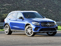 2017 Mercedes-Benz GLC-Class GLC 43 AMG 4MATIC, 2017 Mercedes-AMG GLC43 in Brilliant Blue, exterior, gallery_worthy