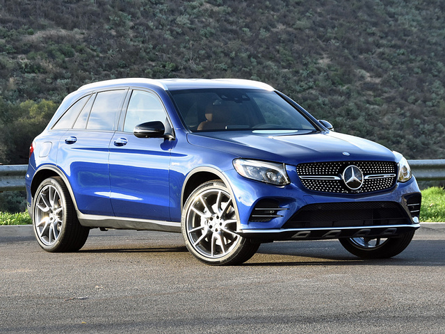 2017 Mercedes-AMG GLC43 in Brilliant Blue