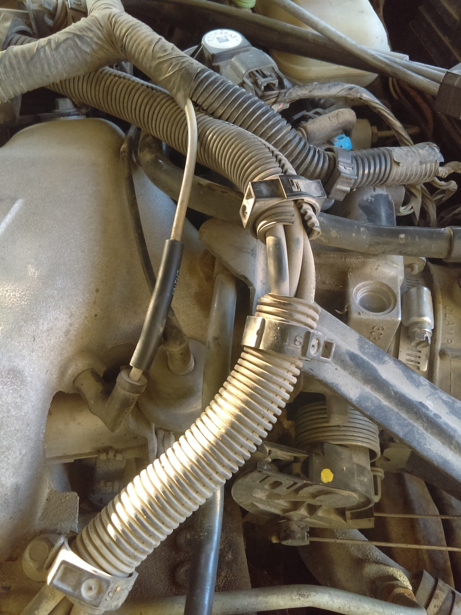 Pontiac Grand Am Questions What Is This Broken Piece Cargurus Vacuum Diagram For Chevy 31 Engine Where Do Hoses Hook To Mark Helpful