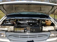 Picture of 2000 Ford E-350 XL Passenger Van, engine
