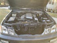 Picture of 2001 Lexus LX 470 4WD, engine, gallery_worthy