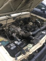 Picture of 1985 Toyota Pickup 2 Dr Deluxe 4WD Extended Cab LB, engine