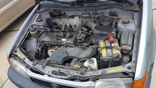 Picture of 1996 Toyota Tercel 2 Dr DX Coupe, engine
