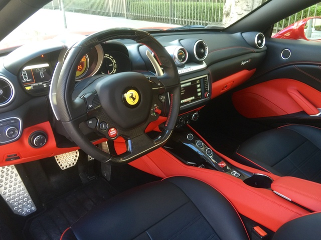 2017 Ferrari California T - Interior Pictures - CarGurus