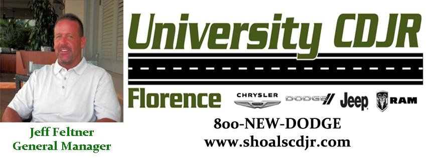 University Chrysler Dodge Jeep Ram of Florence - Florence, AL: Read
