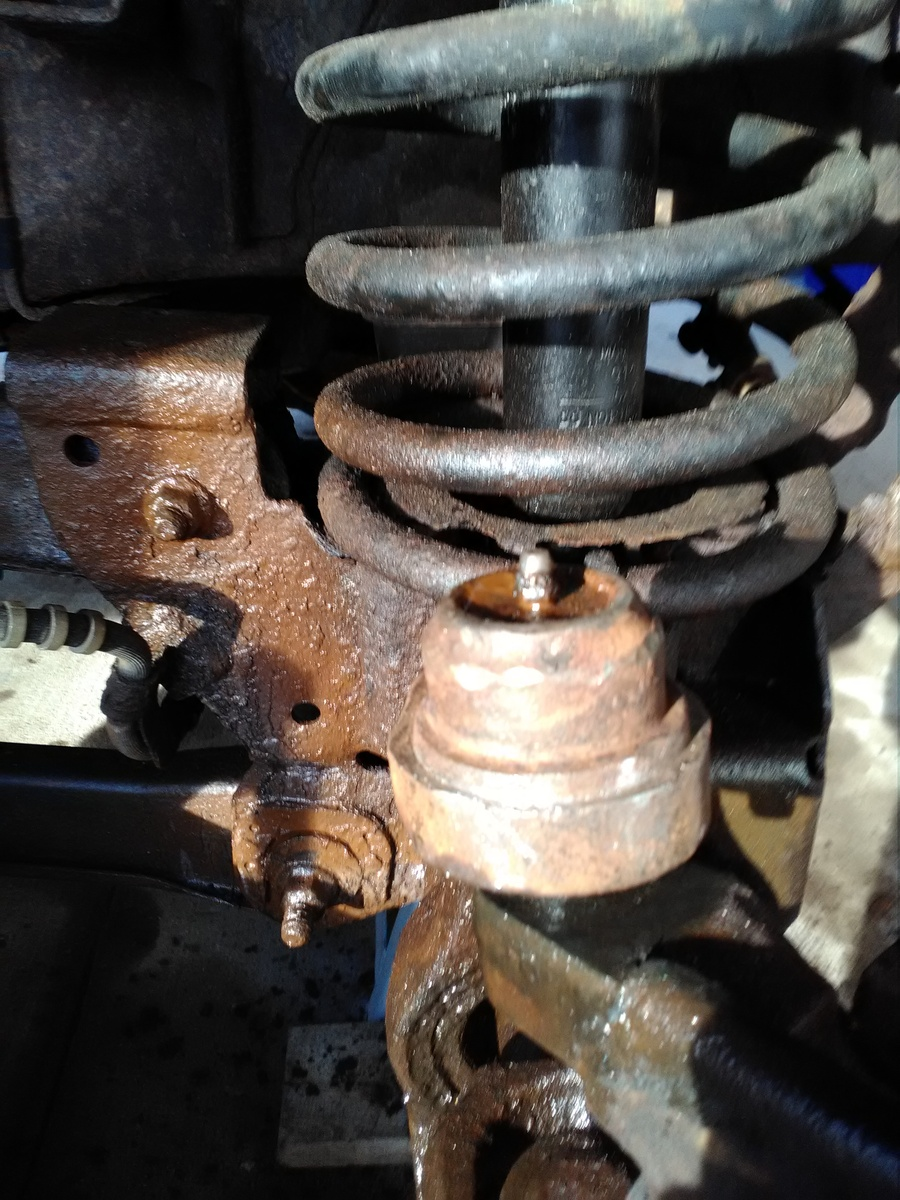 97 dodge ram 4x4 ball joint replacement