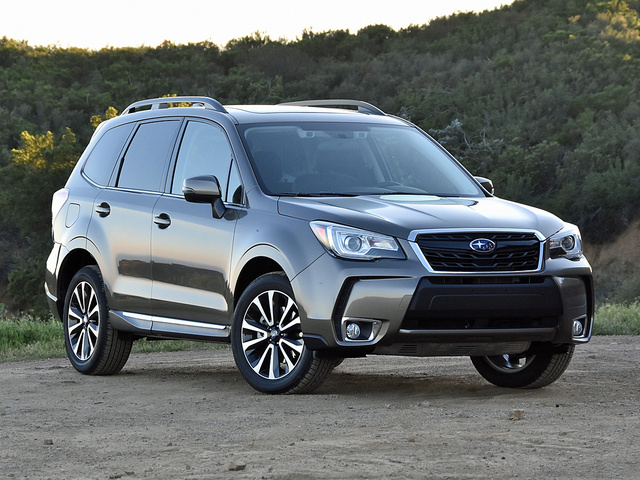 2017 Subaru Forester 2.0XT Touring in Sepia Bronze paint, exterior, gallery_worthy