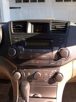 Picture of 2008 Toyota Highlander Base 4WD, interior