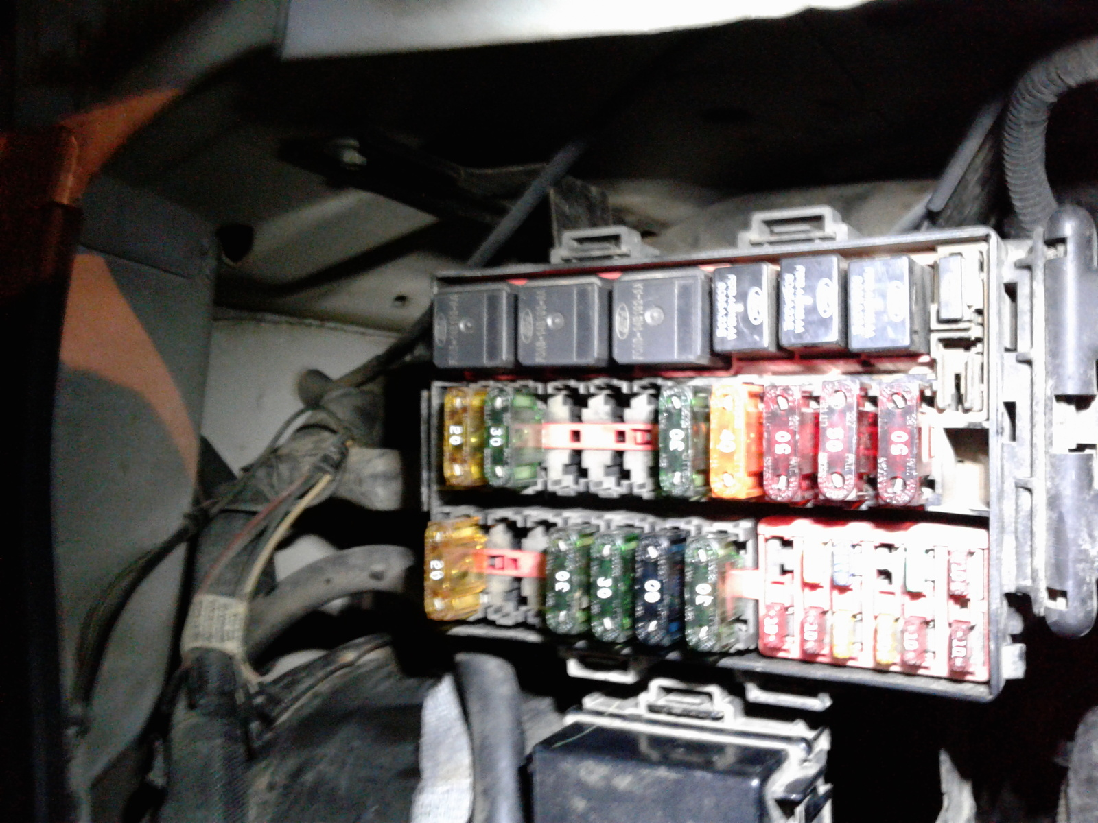 Ford F 250 Super Duty Questions Wont Start Cargurus F250 1999 Fuse Box Vacuum Pump 1 People Found This Helpful