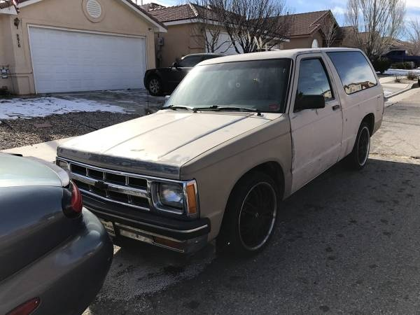Chevrolet S-10 Questions - will a 4 3 from a 1996 s10 4