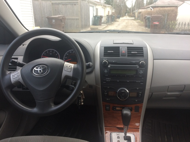 Superb Picture Of 2010 Toyota Corolla XLE, Interior, Gallery_worthy
