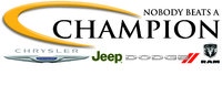 Champion Chrysler Jeep Dodge logo