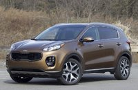 Exterior of the 2017 Kia Sportage, exterior
