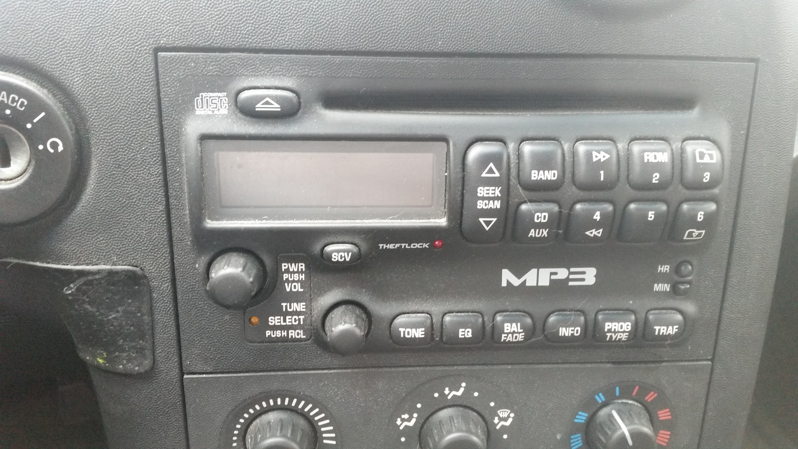 pontiac grand prix questions where is the load cd button on the Pontiac Grand AM Dash 1 answer