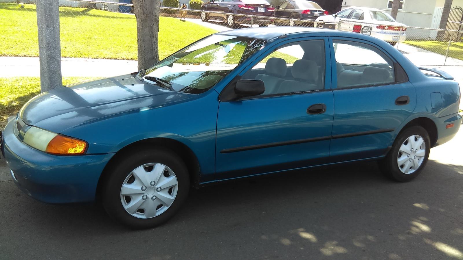 Manual Repair Autos 1998 Mazda Protege Interior Lighting