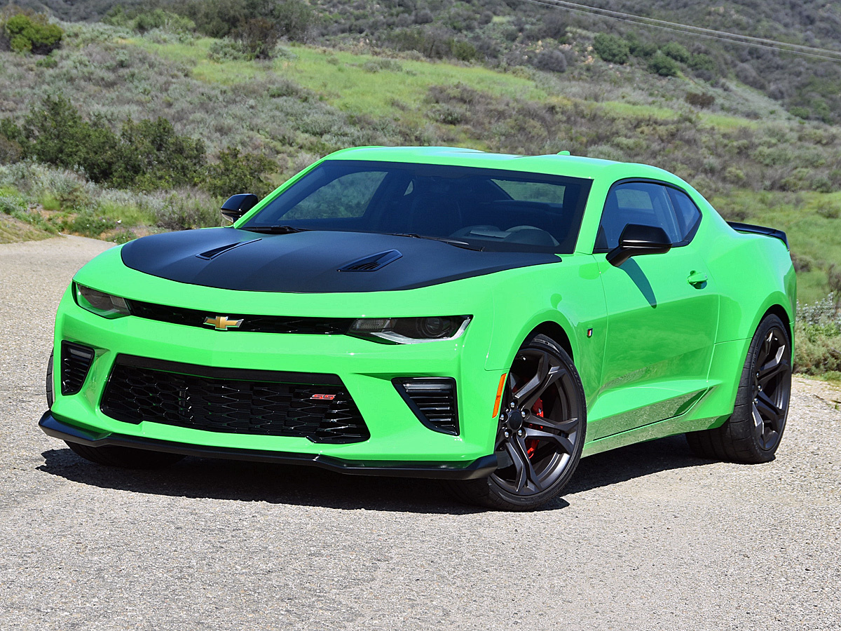 2017 Chevrolet Camaro SS 1LE in Krypton Green