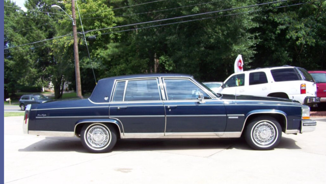 Picture of 1982 Cadillac DeVille Base Sedan, exterior